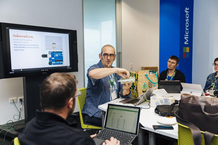 Teachers engage at Microsoft's first New Zealand technology education hui in July