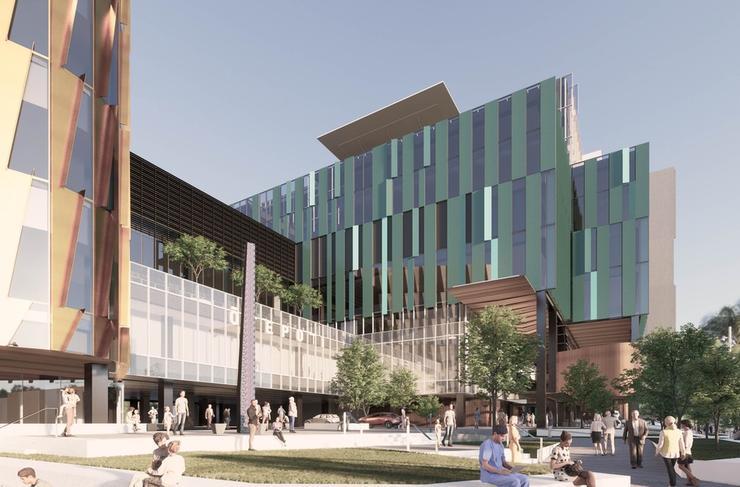 A new Dunedin Hospital concept drawing