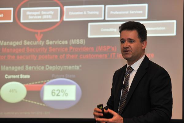 Joel Camissar -  Director of Service Provider, MSP and Cloud for Asia Pacific, Intel Security
