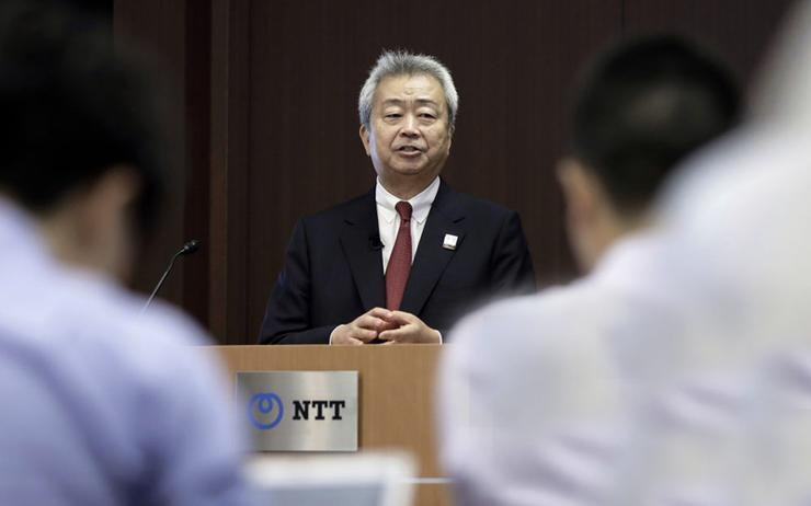 Jun Sawada - CEO, NTT Inc