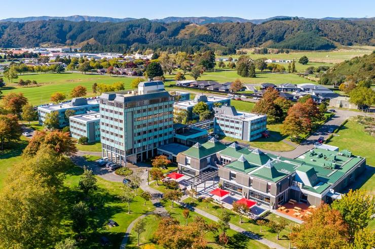 An artist's impression of the NZCIS campus.
