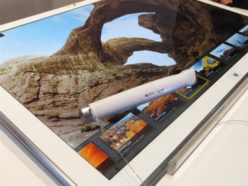 Panasonic's jaw-dropping 20-inch, 4K-resolution Windows tablet will finally land on U.S. store shelves in January.