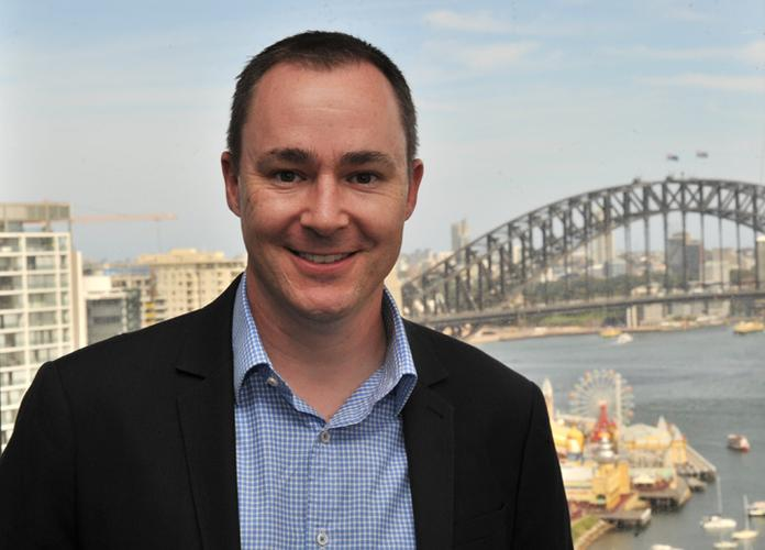 Microsoft Australia director of partner business development, Phil Goldie.