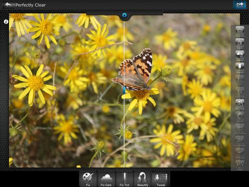 Perfectly Clear 3.3, the latest update to Athentech's universal image editor for the iPhone and iPad