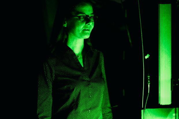 Paola Cappellaro leads MIT's Quantum Engineering Group. Credit: Jose Mandojana