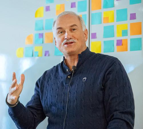 Robert LeBlanc, senior vice president of IBM Cloud