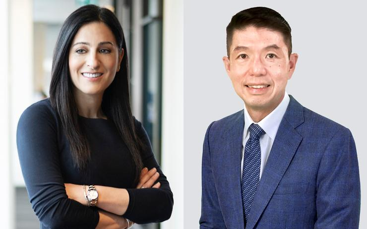 Rola Dagher and Tian Beng Ng (Dell Technologies)