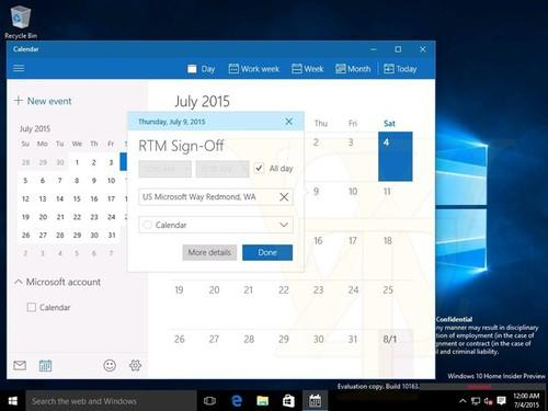 Reports and other clues, including the date plugged into a recent leaked build of Windows 10, signal that engineers will sign off on the RTM milestone this week.
