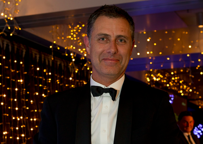 Justin Tye - Managing Director, Exeed - picking up the Channel Choice Distributor of the Year Award at the 2015 Reseller News ICT Industry Awards in Auckland.