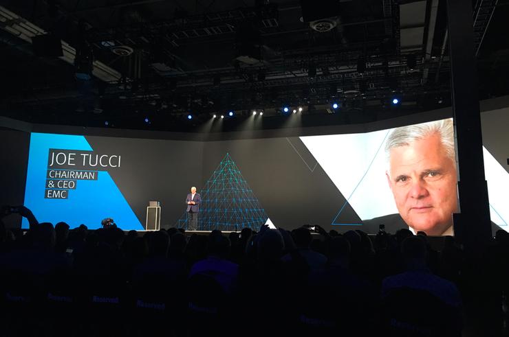 Joe Tucci - CEO and Chairman, EMC Corporation