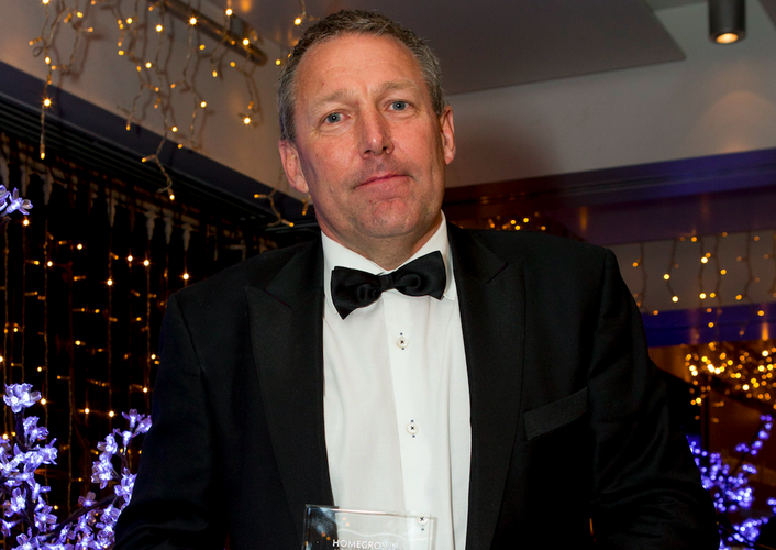 Darryl Swann - Managing Director, Computer Concepts Limited collects the Cloud Partner of the Year Award at the 2015 Reseller News ICT Industry Awards