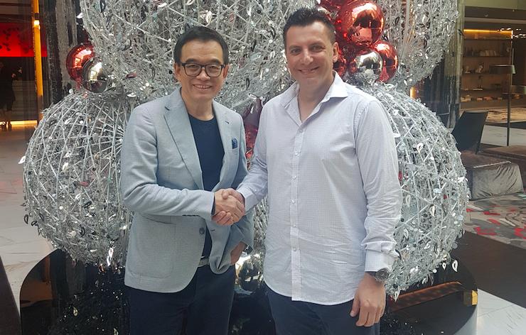 Harry Cheung (Hemisphere Technologies) and Andrew Mamonitis (Hemisphere Technologies)