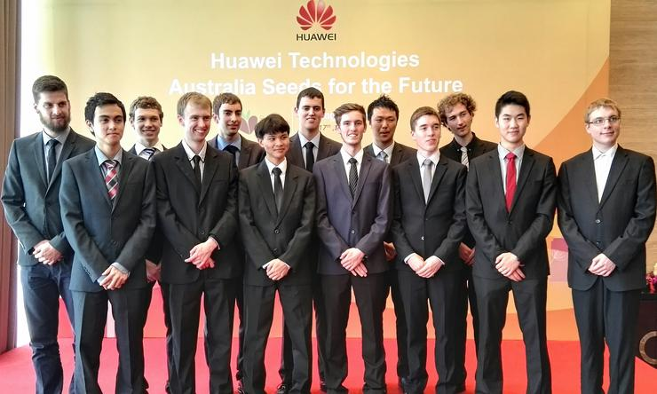 The Australian Seeds For The Future participants in China
