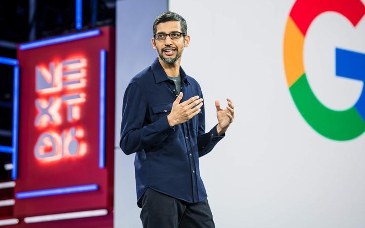 Sundar Pichai (CEO, Google)