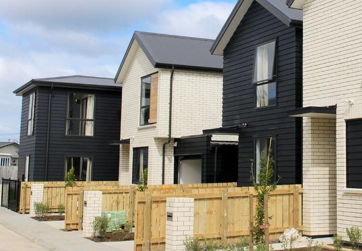 A Housing NZ development in Waterview, Auckland.
