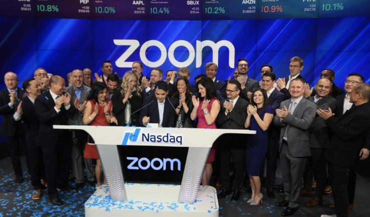 Zoom was founded in 2011 and went public on the Nasdaq last year.