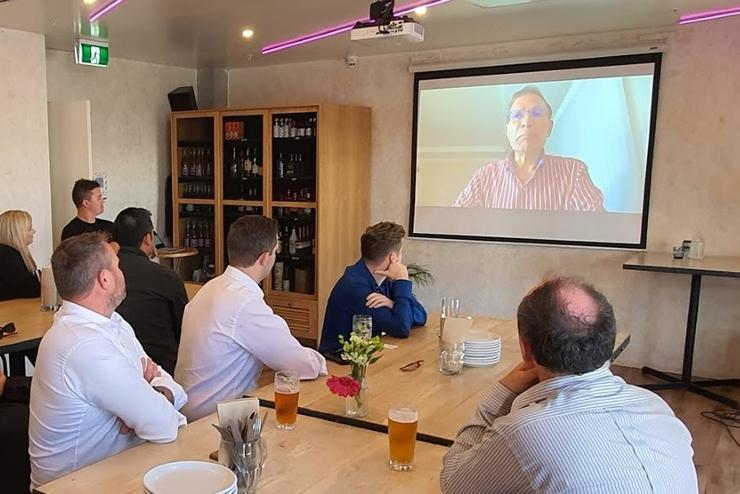 Jay Chaudhry, Zscaler CEO and founder, announced the ZPA launch in New Zealand via video.