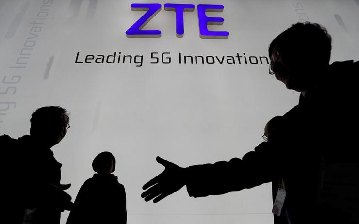 US forges deal to keep China's ZTE in business