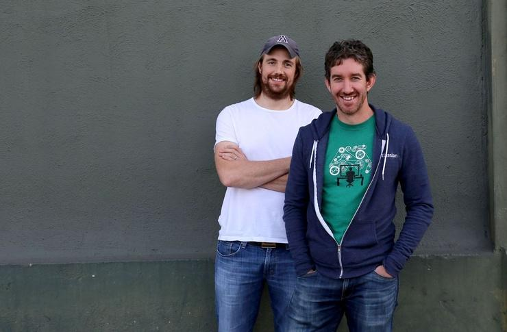 Mike Cannon-Brookes and Scott Farquhar (Atlassian)