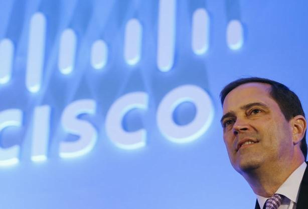 Cisco chief, Chuck Robbins
