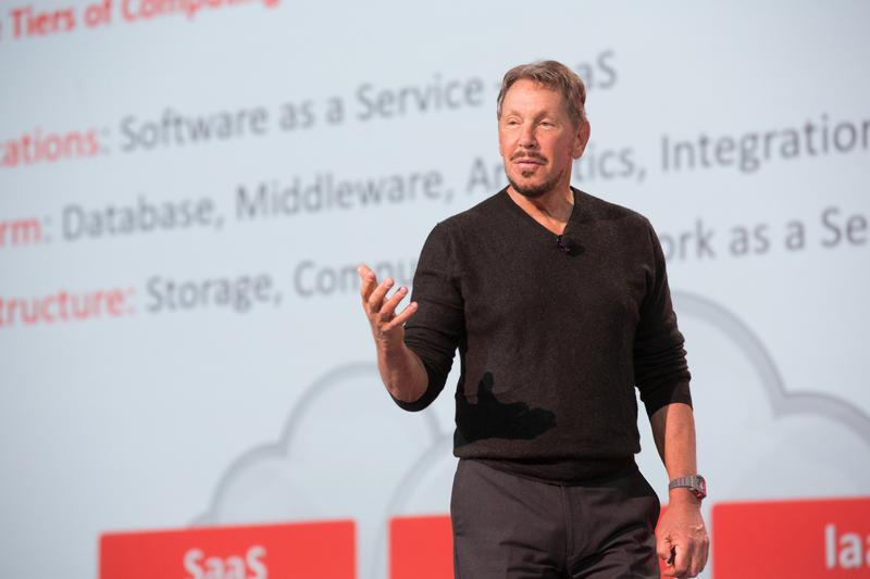 IN PICTURES: Oracle outlines Cloud vision at OpenWorld 2015