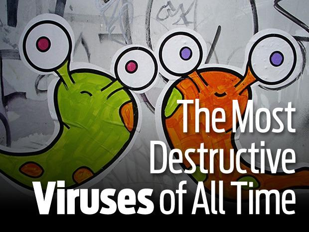 IN PICTURES: The most destructive viruses of all time