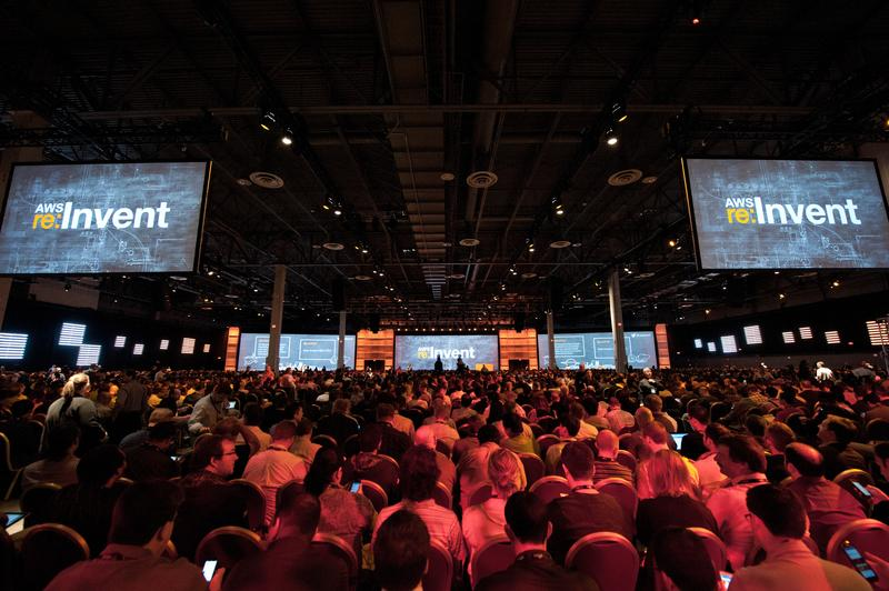 IN PICTURES: Amazon Web Services SVP keynote