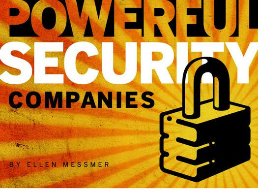 In pictures: The 12 most powerful security companies