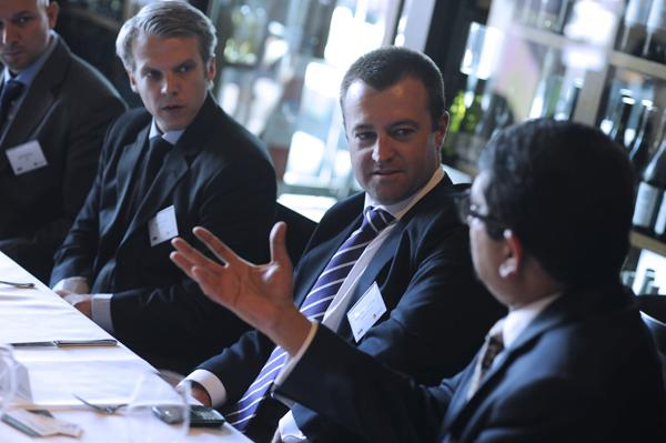 IN PICTURES: Symantec mobility and security roundtable at Flying Fish