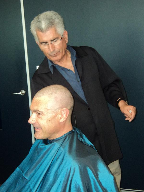 IN PICTURES: Brennan IT's Greatest Shave