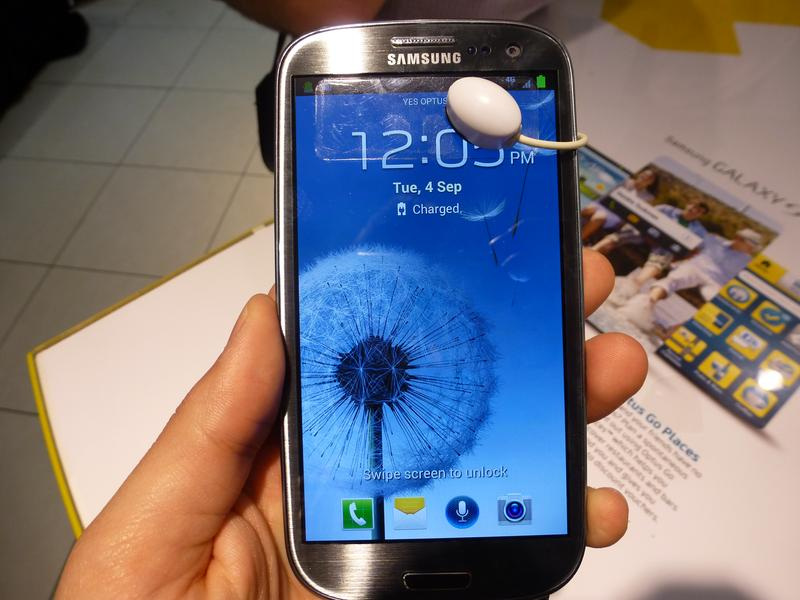 Hands on with the Samsung Galaxy S III 4G