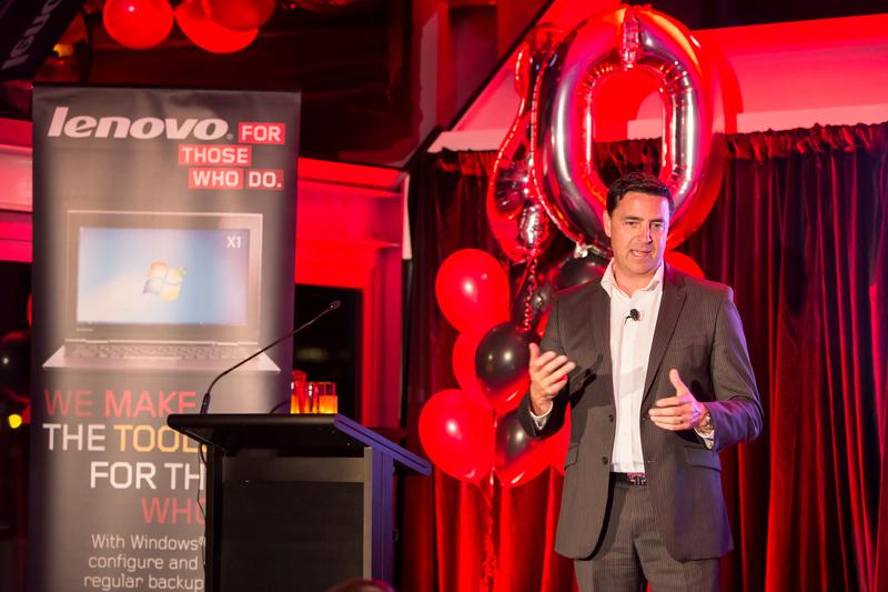 IN PICTURES: Lenovo Australia celebrates ThinkPad's 20th birthday