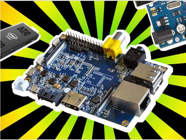 In Pictures: Seven notable Raspberry Pi rivals