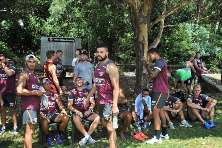 IN PICTURES: Kaspersky Lab touch football with the Manly Sea Eagles (2)