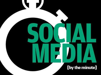 In Pictures: 7 staggering social media use by-the-minute stats