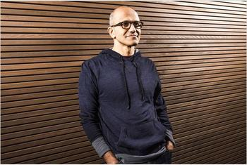 In Pictures: Microsoft CEO's most momentous moments of his first year at the helm