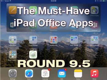 In Pictures: The must-have iPad office apps, round 9.5