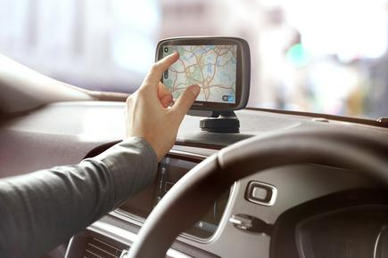 The new TomTom GO 500 and GO 600 GPS units include pinch to zoom functionality.