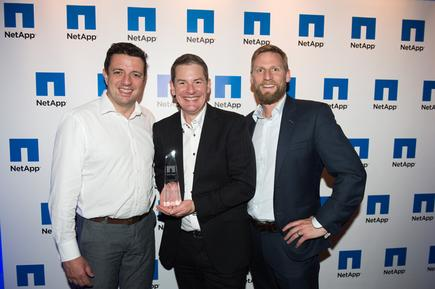 Martin Cooper (NetApp), Malcolm Fraser (Computer Concepts Limited), James Kennedy-Moffat (NetApp)