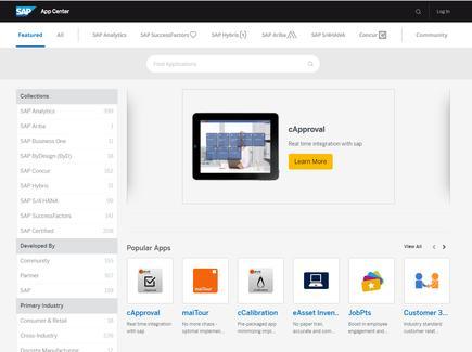 SAP App Centre