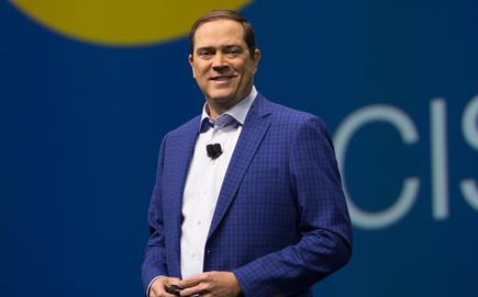 Chuck Robbins - CEO, Cisco, addressing partners on the opening day of Cisco Partner Summit 2017