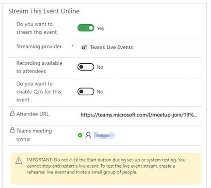 Marketers can set up Teams Webinars without switching screens