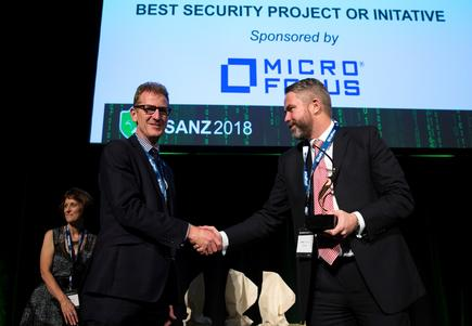 GCSB receives Best Security Project / Initiative Award