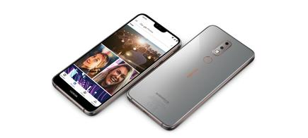 The Nokia 7.1, from HMD Global