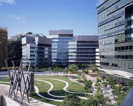 Cyberport complex in Hong Kong