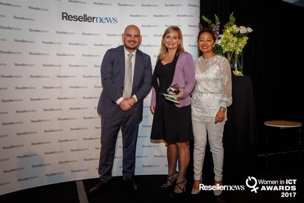 Vanessa Sorenson (then of Spark) won the Entrepreneur Award in 2017