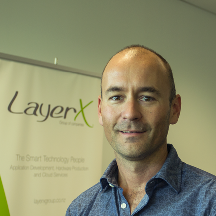 Bruce Trevarthen - CEO, LayerX Group