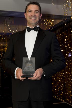 Ian Forrester - Managing Director, Plan B, at the 2015 Reseller News ICT Industry Awards