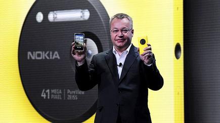 Nokia CEO Stephen Elop.