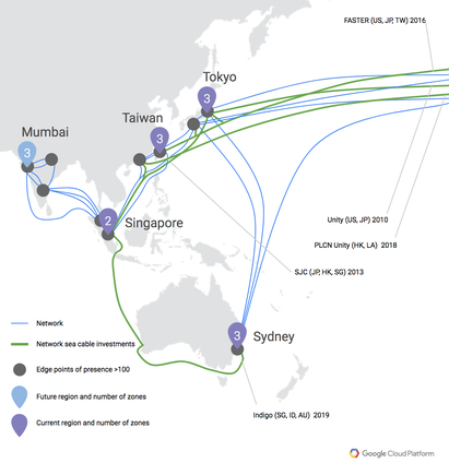 Google Cloud Platform launches in Sydney